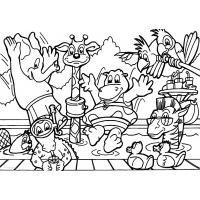 Florida animals coloring pages