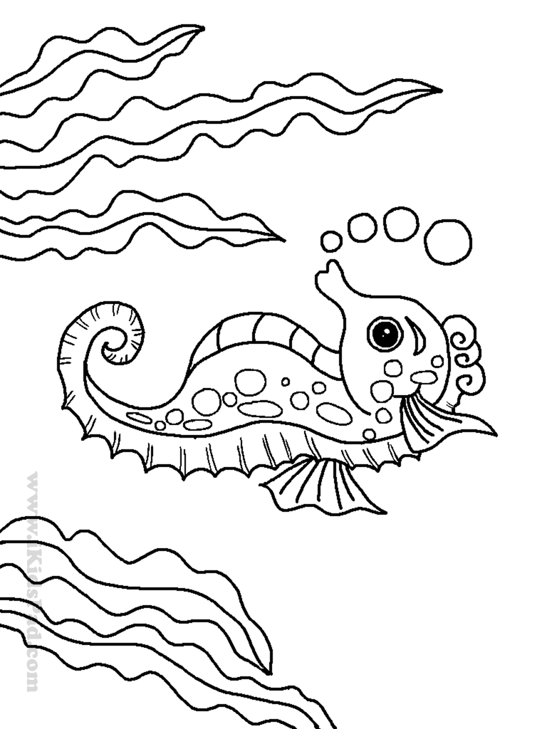 Sea animal coloring pages to download and print for free