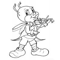 Grasshoppers coloring pages
