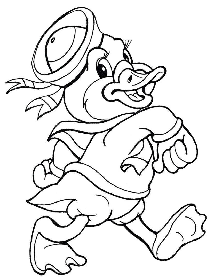 Goose coloring pages to download and print for free