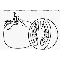 Tomatoes coloring pages