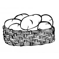 Potatoes coloring pages