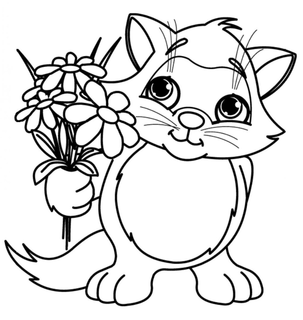 Spring Flower Coloring Pages To Download And Print For Free