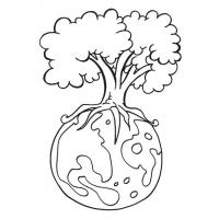 Environment day coloring pages