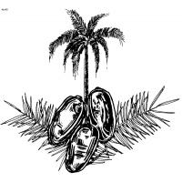 Date palm coloring pages