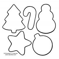 Christmas treats coloring pages
