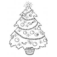 Christmas Decorations Coloring Pages