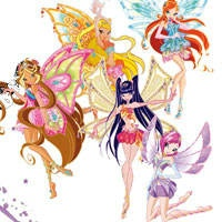Winx Enchantix coloring pages