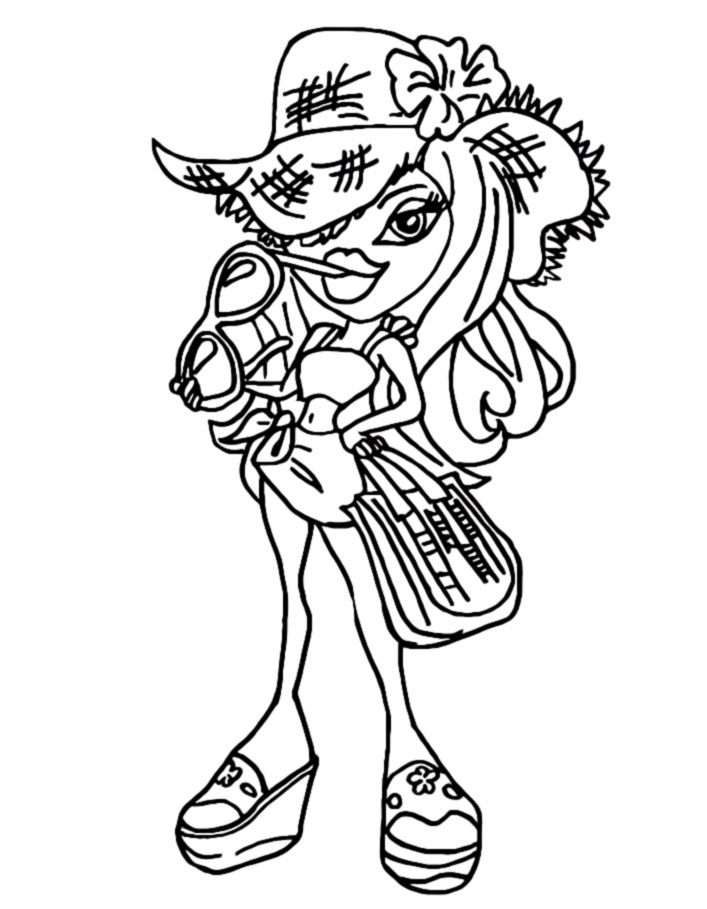 coloring pages bratz dolls - photo#12