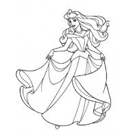 Disney Princesses coloring pages