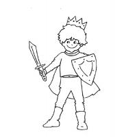 Prince coloring pages