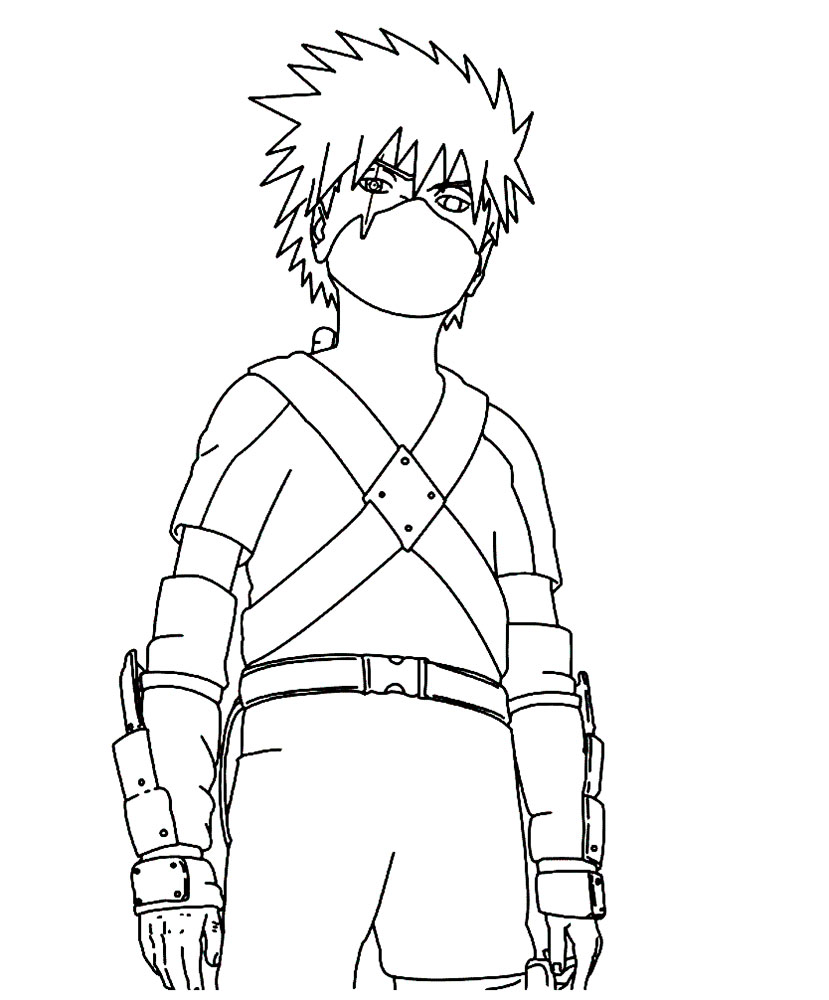 ninja coloring pages for kids - photo#12