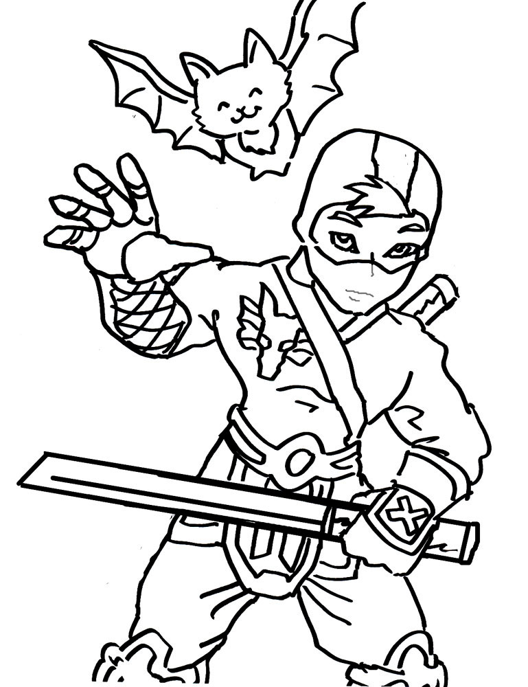 free ninja star coloring pages - photo#38