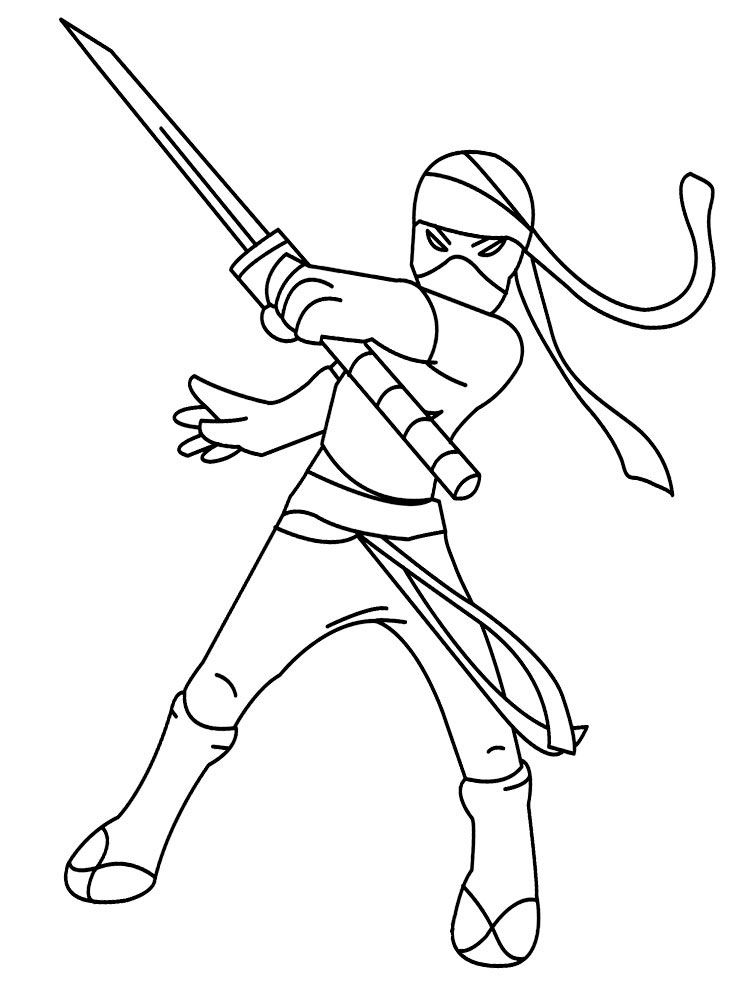 ninjas coloring pages - photo#32