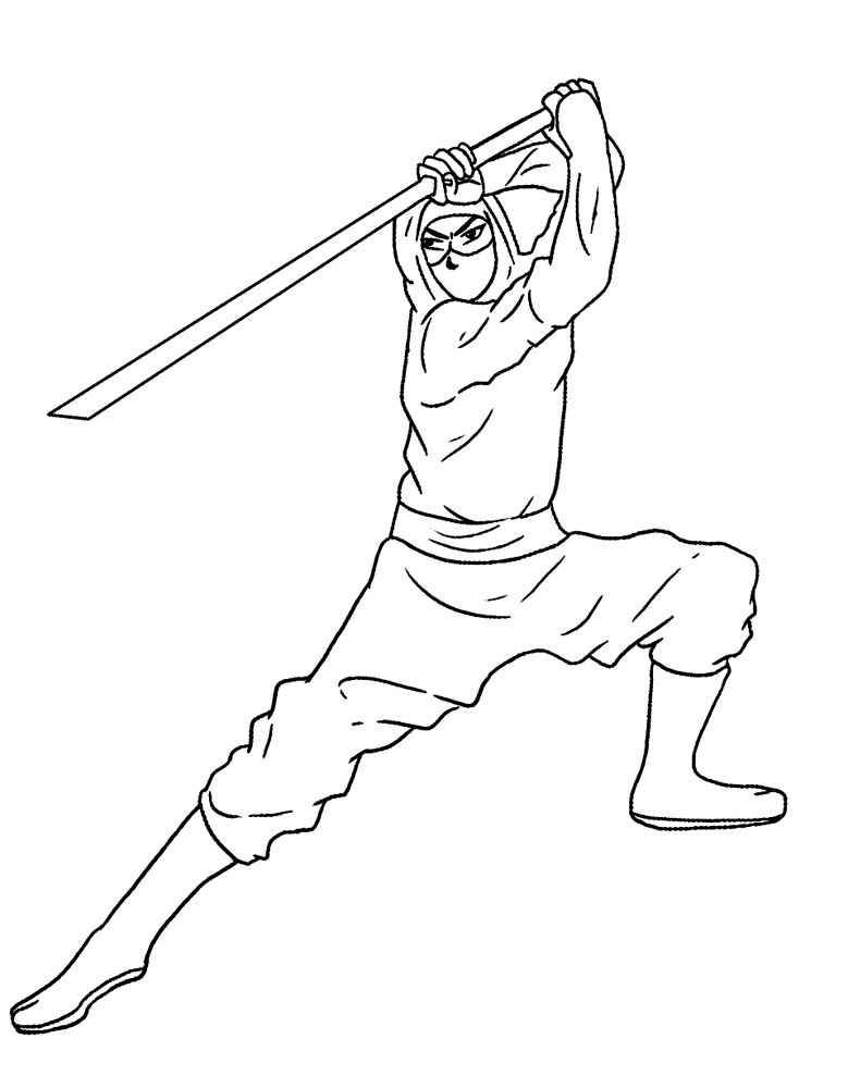 ninjas coloring pages - photo#11