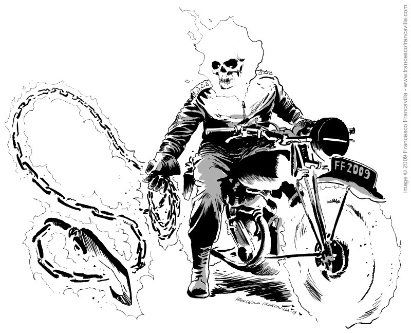 Sonic riders zero gravity coloring pages ~ Ghost rider coloring pages