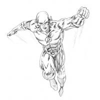 Dc comics flash coloring pages