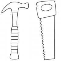 Tool coloring pages