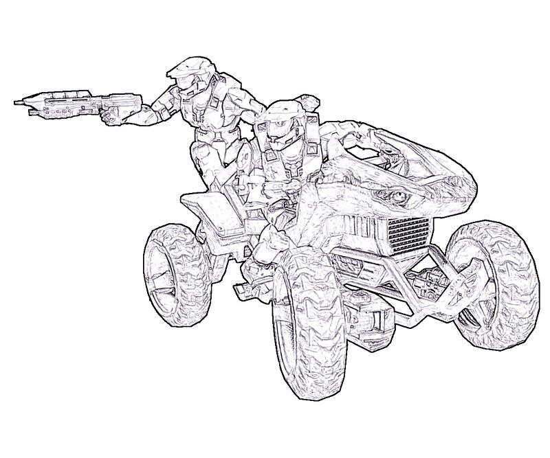 Fine Halo Coloring Pages Image Collection - Coloring Ideas ...