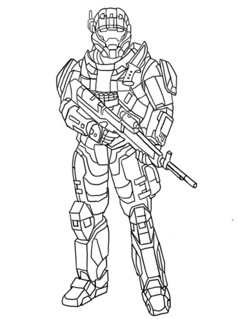 halo tank coloring pages - photo#26
