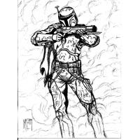 Mandalorian coloring pages