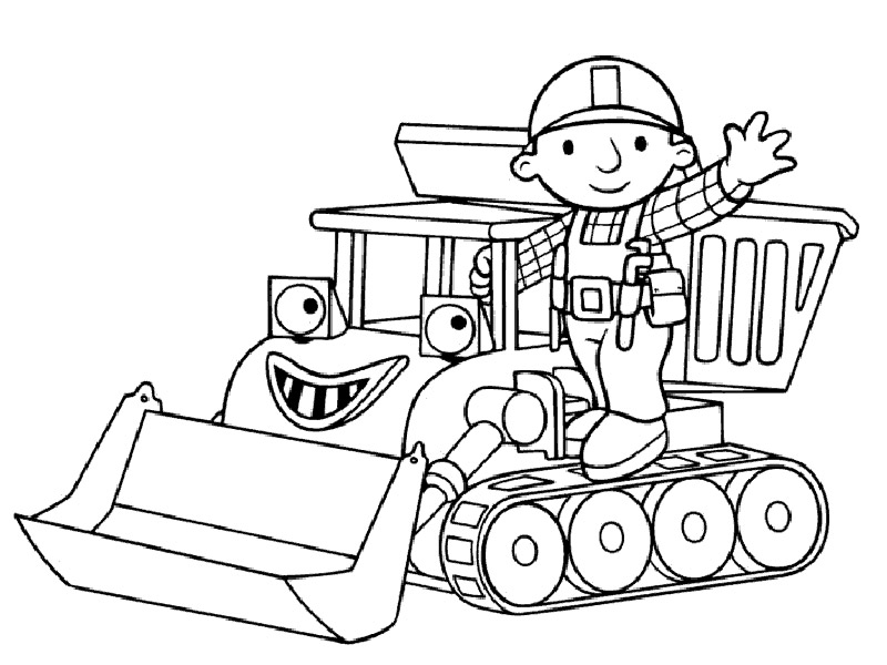 coloring book pages of tractors | Tractor coloring pages