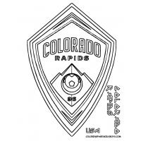 Soccer logos coloring pages