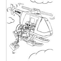Lego Police coloring pages