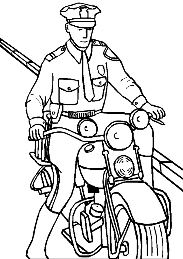 coloring pages space police - photo#22