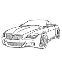 Real cars coloring pages