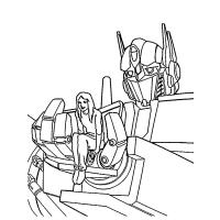 Autobot coloring pages
