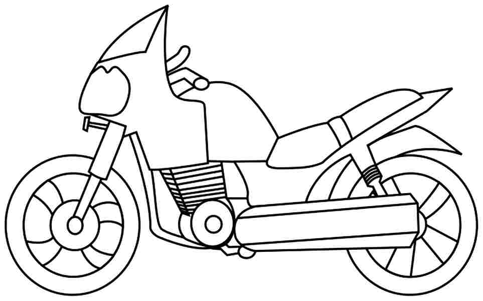 blippi coloring book animals machines motorbike coloring pages