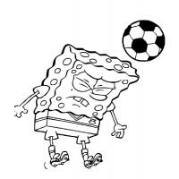 Soccer player coloring pages