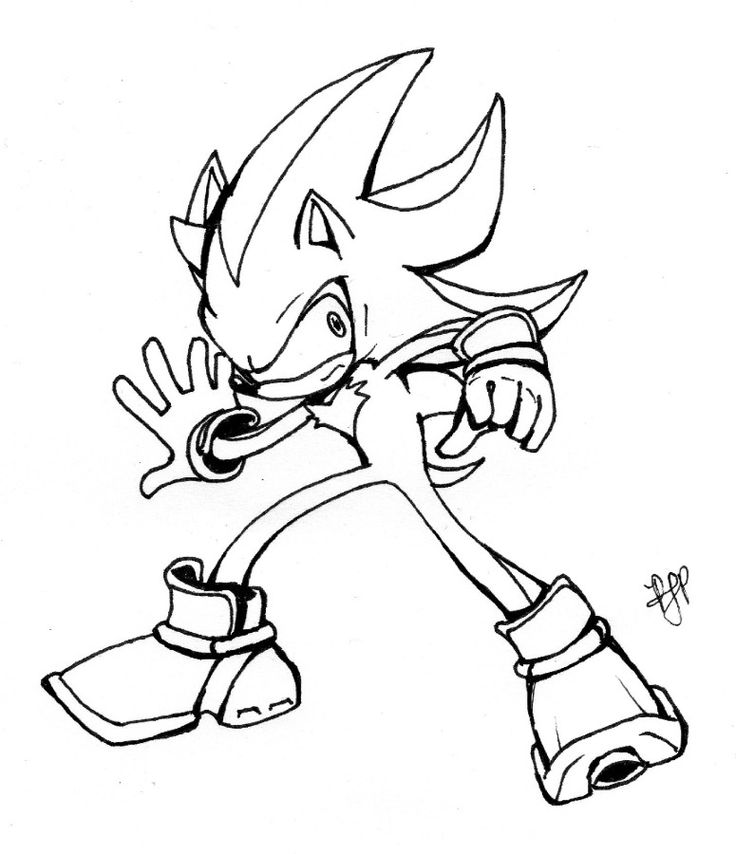 sonic mephiles coloring pages - photo#22