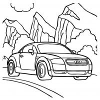 Cars coloring pages