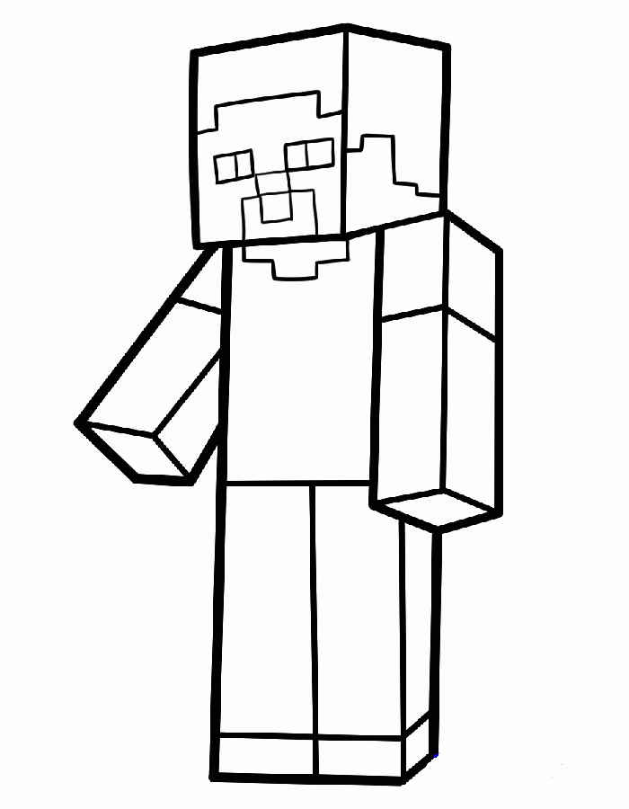 Minecraft coloring pages maxwellsz