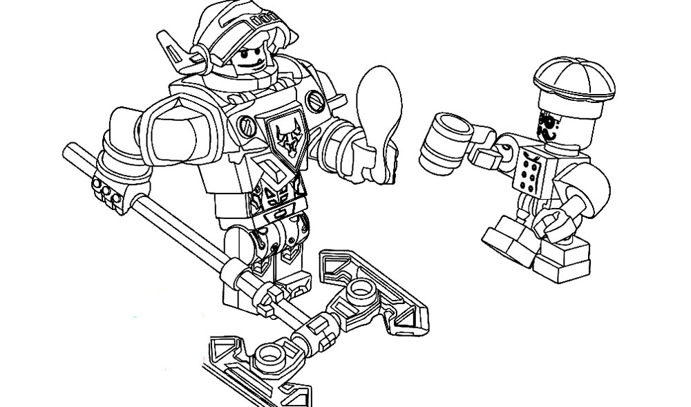 coloring pages lego knights - photo#38