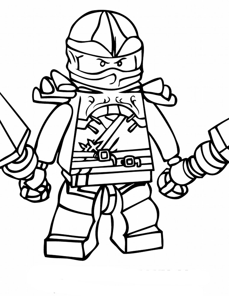 Lego Ninjago Coloring Pages on Fruits And Vegetables Coloring Pages For