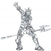 Lego Bionicle coloring pages