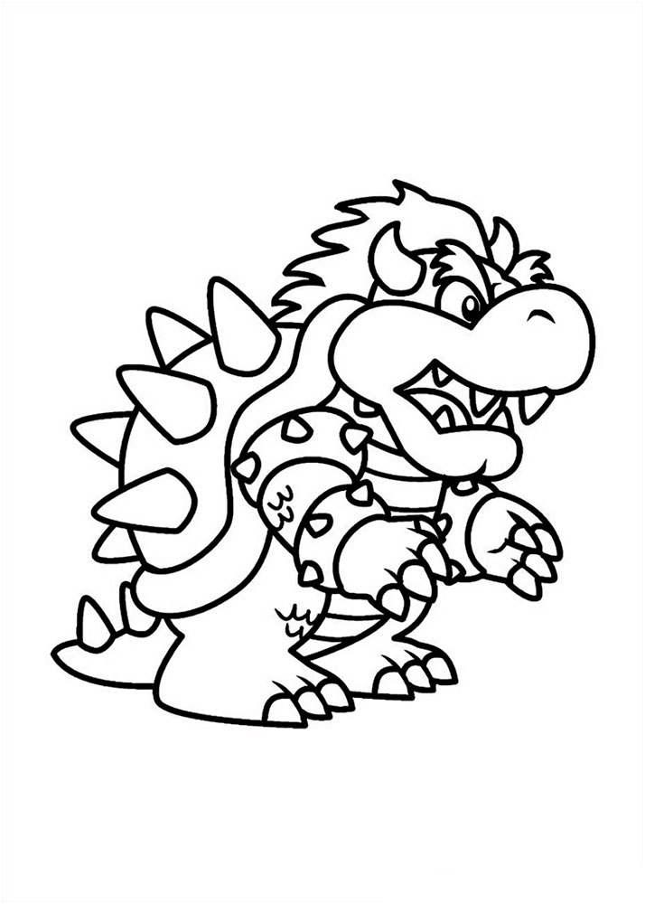 mario bro yoshi coloring pages - photo#1