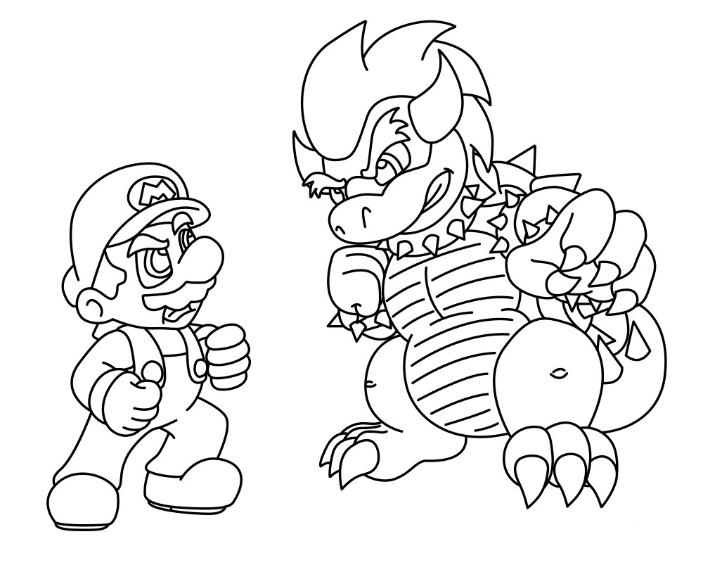 mario bro yoshi coloring pages - photo#49