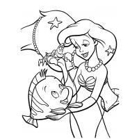 Ariel the Little Mermaid coloring pages
