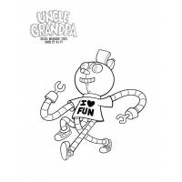 Uncle grandpa coloring pages