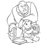 Lilo and stitch coloring pages