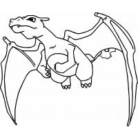 Charizard coloring pages