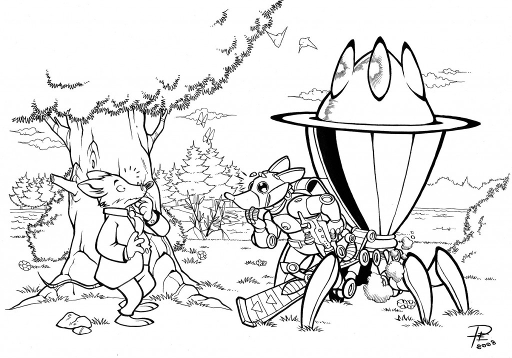 Coloring: Geronimo Stilton Coloring Pages