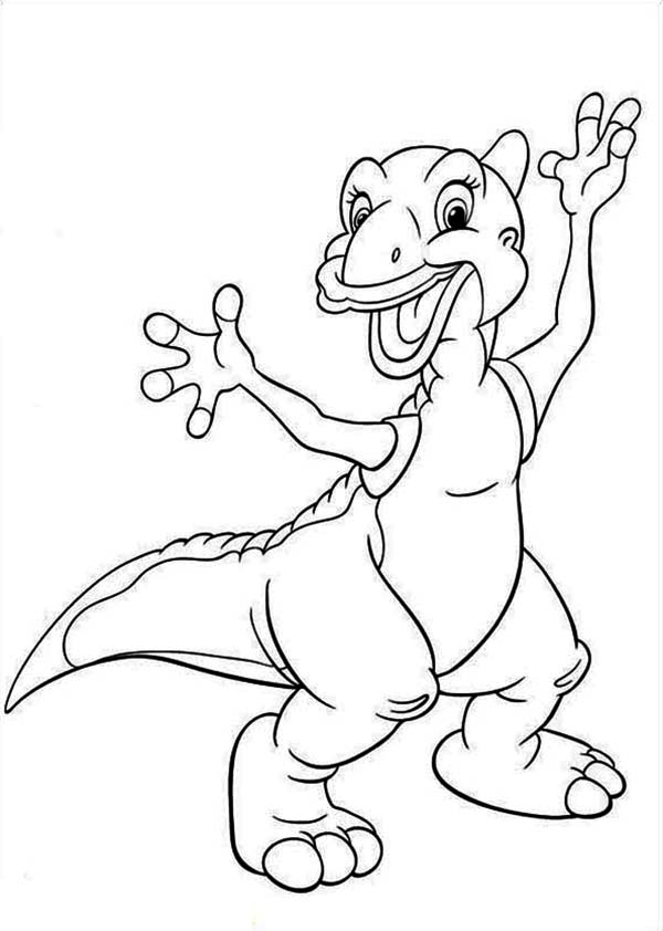 The Land Before Time Coloring Pages - TheLandBeforeTime.org | 842x600