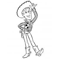 Woody coloring pages