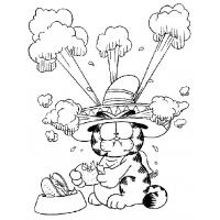Garfield coloring pages