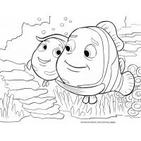Nemo coloring pages